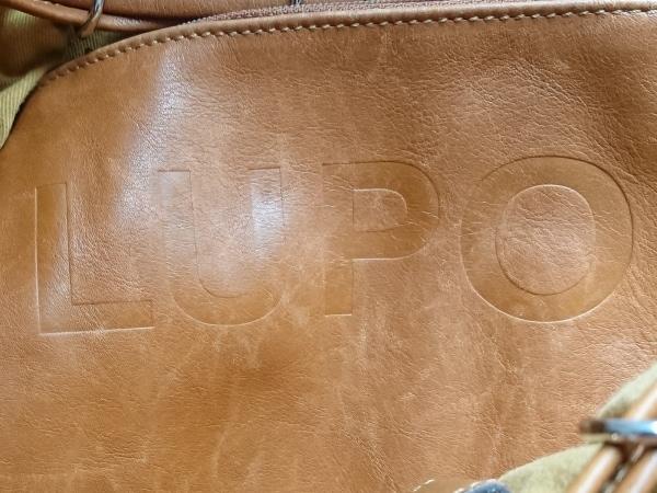 LUPO(ルポ) トートバッグ ブラウン 巾着型 レザー