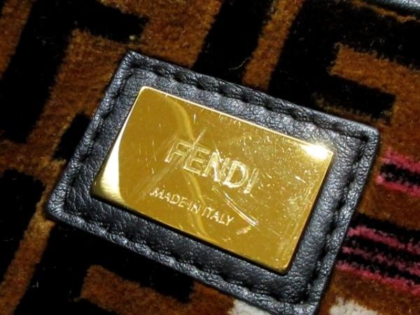 FENDI(フェンディ) ハンドバッグ ピーカブー 8BN290 黒 レザー