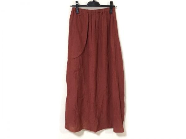 EIKO KONDO(エイココンドウ) ロングスカート レディース美品  ブラウン