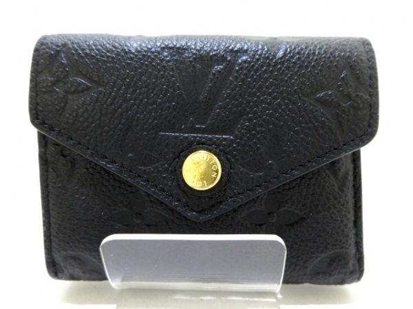 ルイヴィトン 3つ折り財布 モノグラム・アンプラント美品  ポルトフォイユ・ゾエ