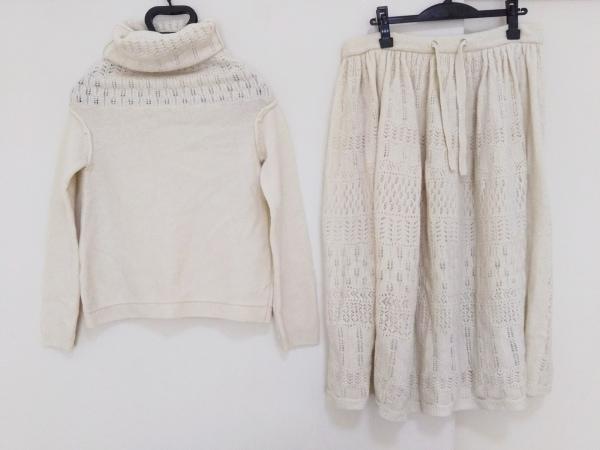 Y's(ワイズ) スカートセットアップ サイズ3 L レディース 白 ニット