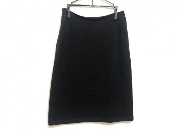 サルバトーレフェラガモ スカート サイズS レディース美品  黒 ニット/ウエストゴム
