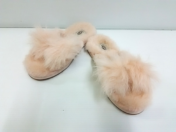 アグ 靴 レディース ミラベル スリッパ 1095102 ピンクベージュ スリッパ ムートン