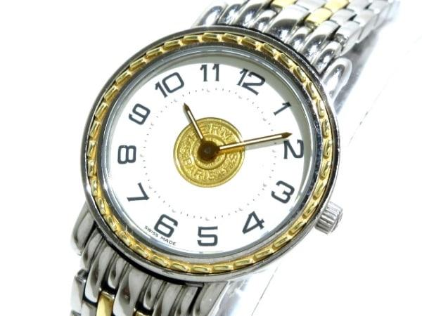 HERMES(エルメス) 腕時計 セリエ SE4.220 レディース 白