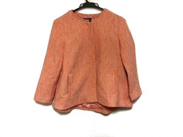 DoCLASSE(ドゥクラッセ) ジャケット サイズ7 S レディース美品  オレンジ
