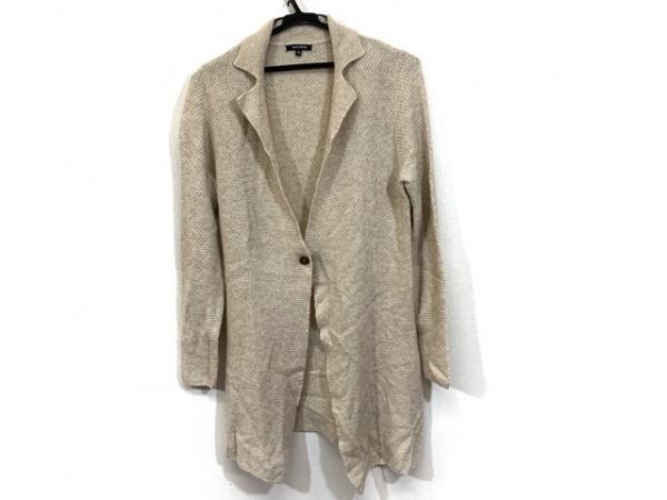 ドゥクラッセ ジャケット サイズM レディース美品  ベージュ ニット/カシミヤ