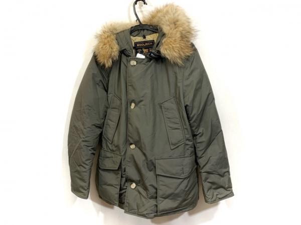 WOOLRICH(ウールリッチ) ダウンジャケット サイズM メンズ カーキ 冬物