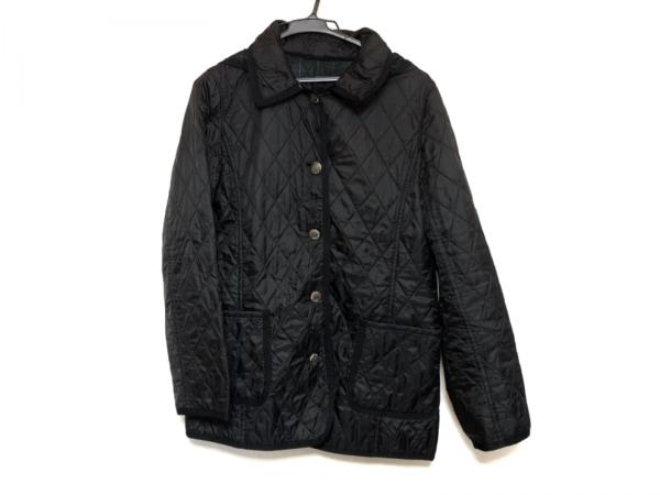 AMACA(アマカ) ブルゾン サイズ40 M レディース美品  黒 キルティング/冬物