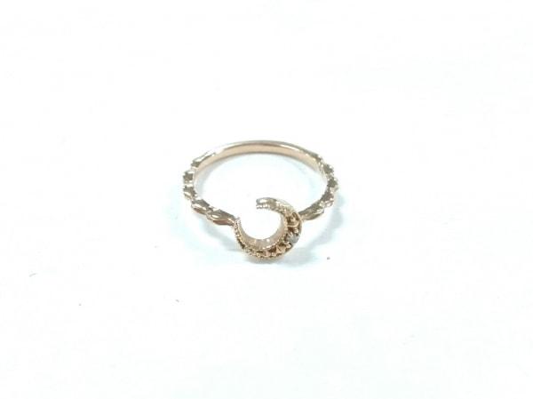 NOJESS(ノジェス) リング美品  K10×ダイヤモンド 0.008ct