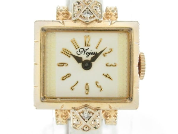 NOJESS(ノジェス) 腕時計 - レディース 0.013ct 白