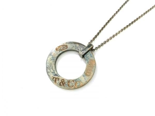 TIFFANY&Co.(ティファニー) ネックレス美品  1837モンタージュラウンド シルバー