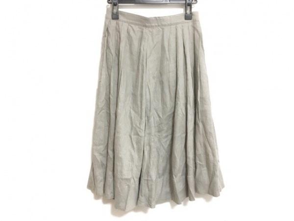 MargaretHowell(マーガレットハウエル) スカート サイズ1 S レディース グレー