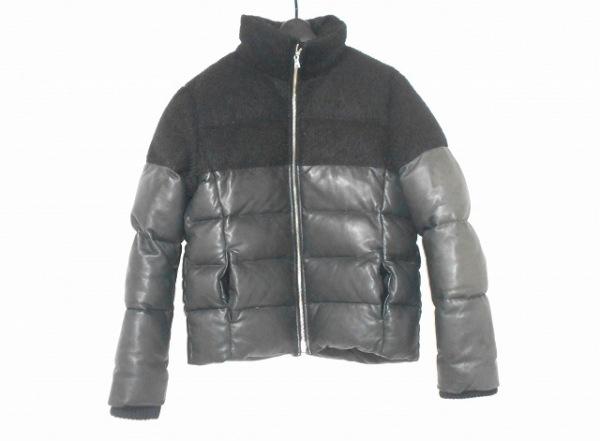 Lui's(ルイス) ダウンジャケット サイズL レディース 黒 冬物/レザー