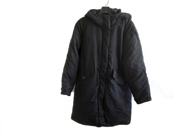 coen(コーエン) ダウンコート サイズL レディース美品  黒
