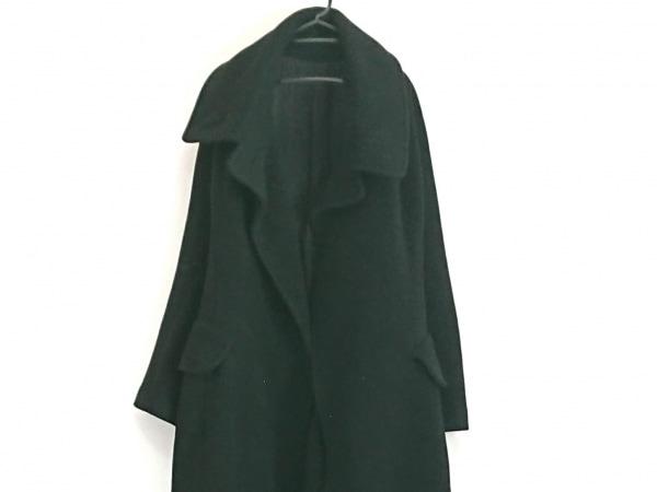 yohjiyamamoto(ヨウジヤマモト) コート レディース 黒 冬物/ロング丈