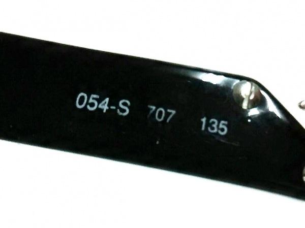 エンポリオアルマーニ サングラス美品  054-S 黒×シルバー プラスチック×金属素材