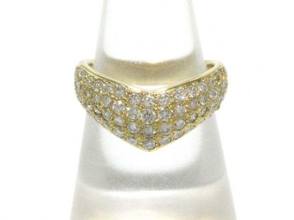VENDOME(ヴァンドーム青山) リング美品  K18YG×ダイヤモンド ダイヤ0.7カラット