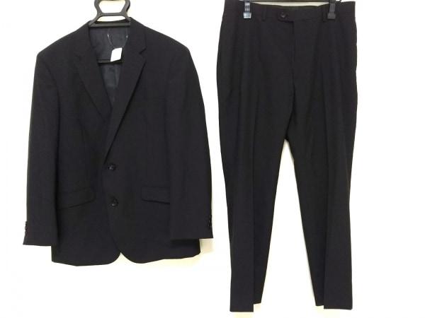 MALE&Co(メイルアンドコー) シングルスーツ メンズ 黒 ストライプ