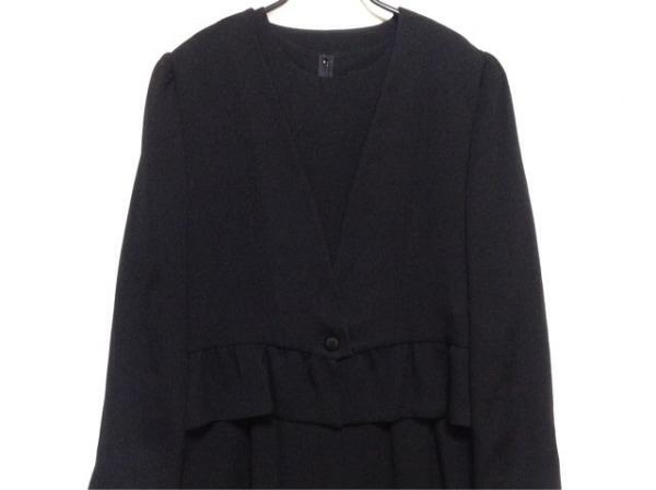 SOIR PERLE(ソワール ペルル) ワンピーススーツ サイズ15 L レディース 黒