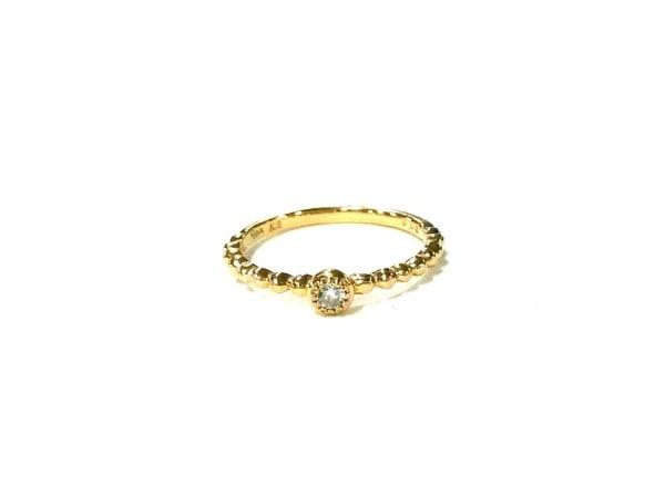 STAR JEWELRY(スタージュエリー) リング美品  K18YG×ダイヤモンド