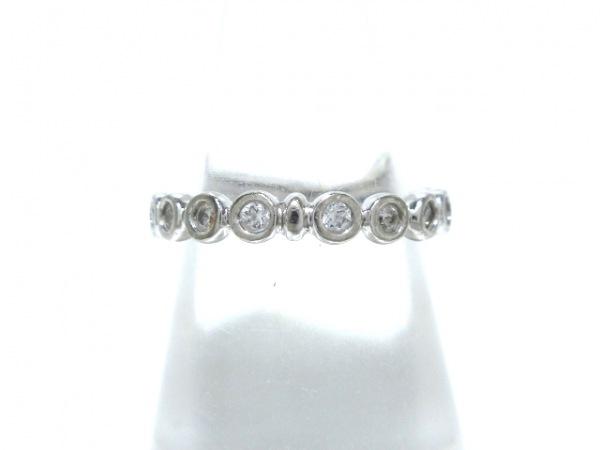STAR JEWELRY(スタージュエリー) リング K18WG×ダイヤモンド