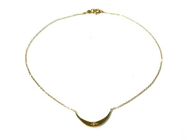 AHKAH(アーカー) アクセサリー美品  K18YG×ダイヤモンド