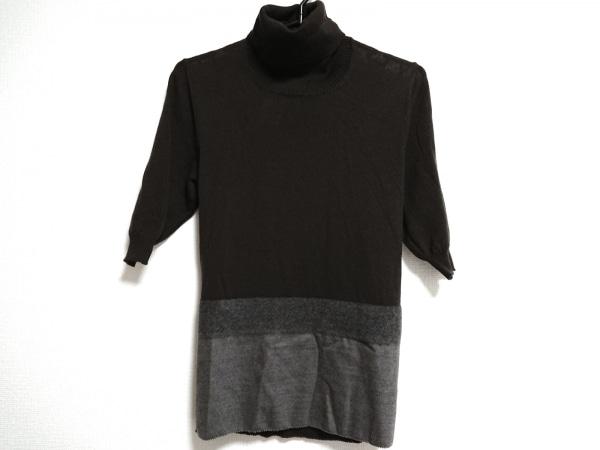 CIVIDINI(チヴィディーニ) 半袖セーター サイズ44 L レディース タートルネック