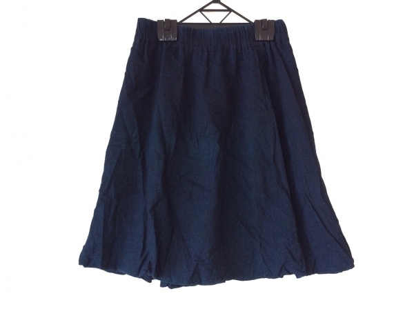 パラスパレス バルーンスカート サイズ0 XS レディース ネイビー ウェストゴム