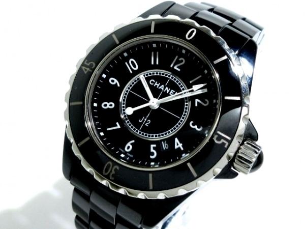 CHANEL(シャネル) 腕時計美品  J12 H0682 レディース 新型/セラミック/33mm 黒