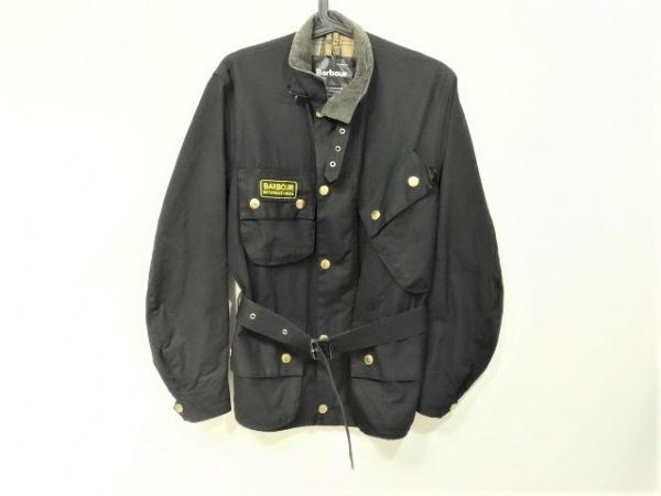 Barbour(バーブァー) ブルゾン サイズ32 XS メンズ - - 黒 長袖/ジップアップ/春/秋