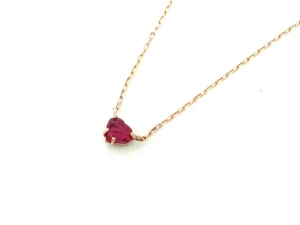 サマンサ ティアラ ネックレス美品  K18PG×ダイヤモンド×カラーストーン ピンク