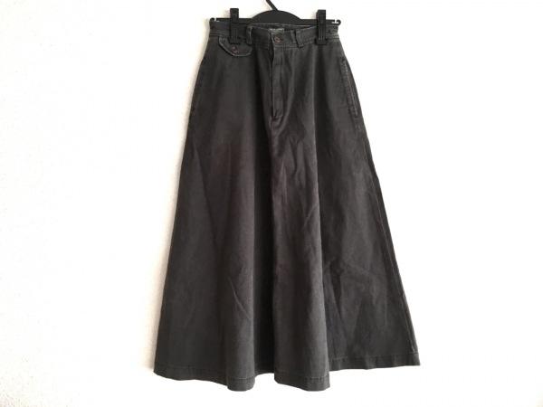 ラルフローレン カントリー ロングスカート サイズ9 M レディース美品  黒