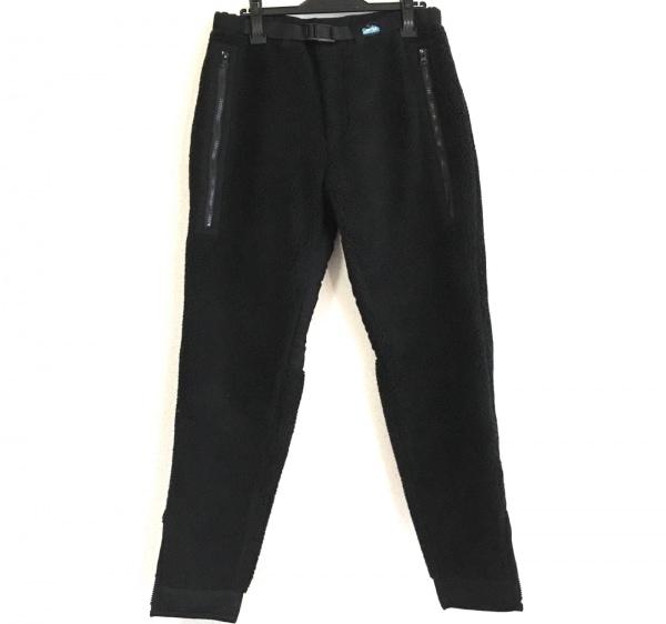 KAVU(カブー) パンツ サイズM レディース新品同様  黒 ボア
