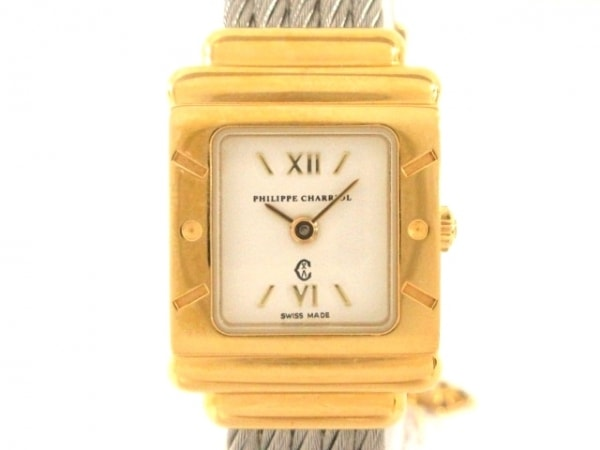PHILIPPE CHARRIOL(フィリップシャリオール) 腕時計 7007902 レディース 白