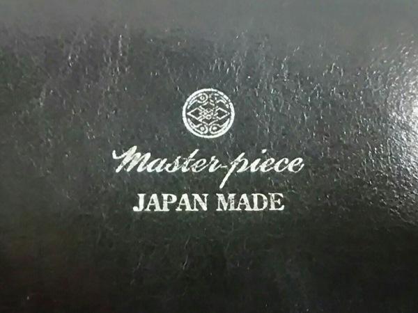 MASTER-PIECE(マスターピース) ビジネスバッグ 黒 ナイロン×レザー