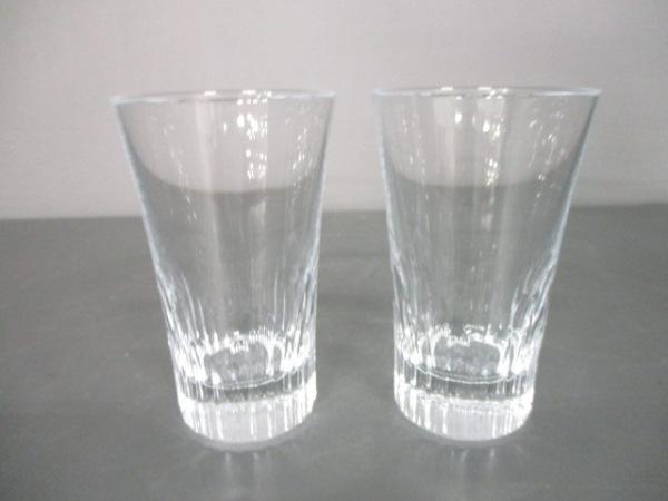Baccarat(バカラ) ペアグラス新品同様  エトナ クリア クリスタルガラス