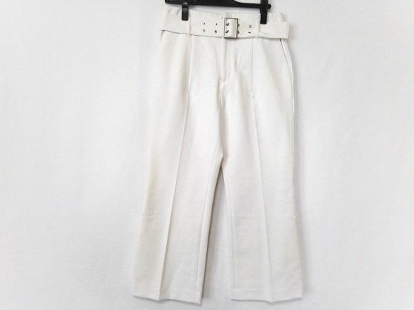 ADORE(アドーア) パンツ サイズ38 M レディース美品  白