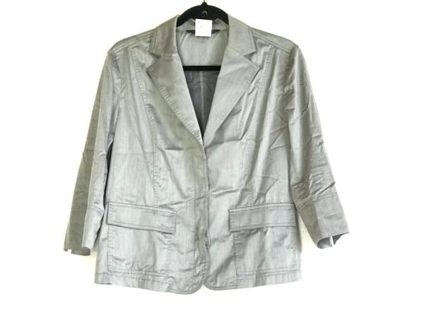 INDIVI(インディビ) ジャケット サイズ42 L レディース グレー