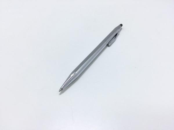 CROSS(クロス.) ボールペン美品  シルバー×黒 インクなし 金属素材