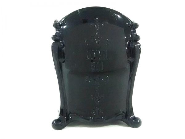 ANNA SUI(アナスイ) 小物入れ 黒 フラワー プラスチック