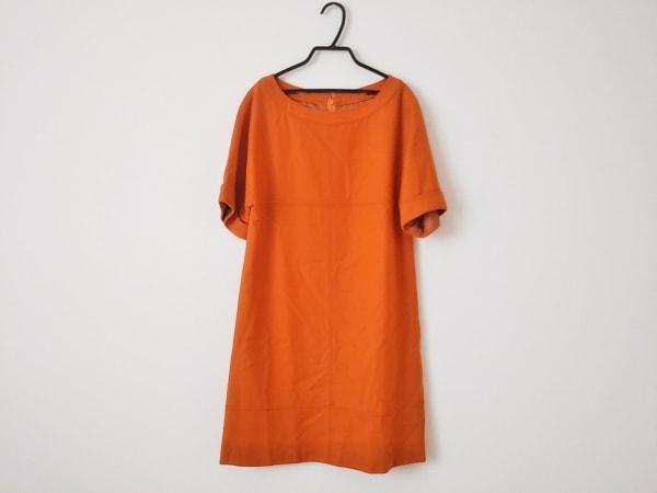 enrecre(アンレクレ) ワンピース サイズ38 M レディース美品  オレンジ