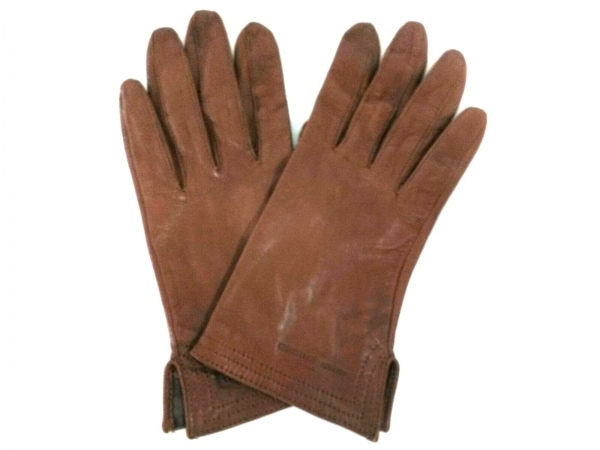 CHRISTIAN AUJARD(クリスチャンオジャール) 手袋 レディース ブラウン レザー