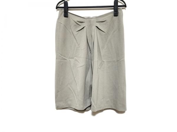 アルマーニコレッツォーニ スカート サイズ42 M レディース美品  グレージュ