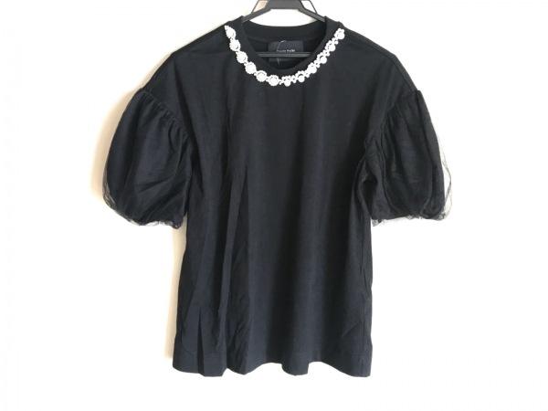 simone rocha(シモーネロシャ) 半袖カットソー レディース 黒×白