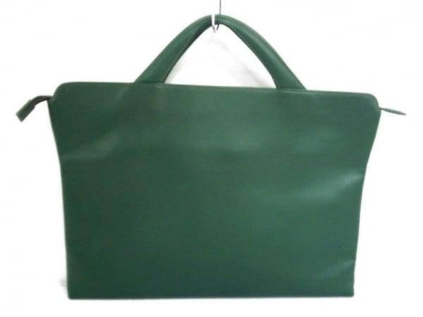 TRION(トライオン) ビジネスバッグ美品  グリーン レザー