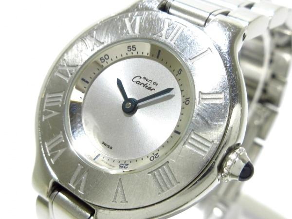 Cartier(カルティエ) 腕時計 マスト21SM W10109T2 レディース SS シルバー