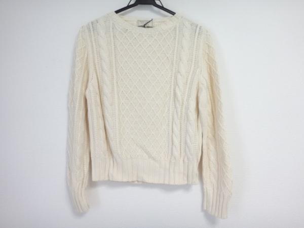 MAISON KITSUNE(メゾンキツネ) 長袖セーター サイズS レディース美品  アイボリー