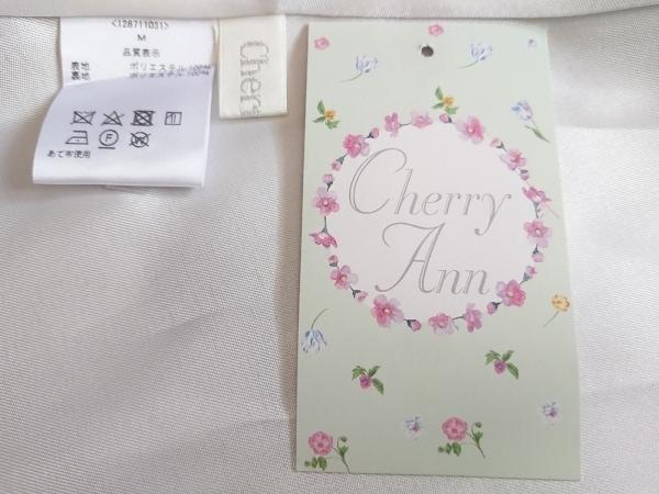 CHERRY ANN(チェリーアン) ワンピース サイズM レディース新品同様  グレー×白×黒