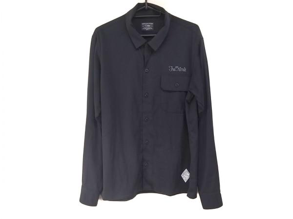 CRIMIE(クライミー) 長袖シャツ サイズM メンズ美品  ダークネイビー×グレー