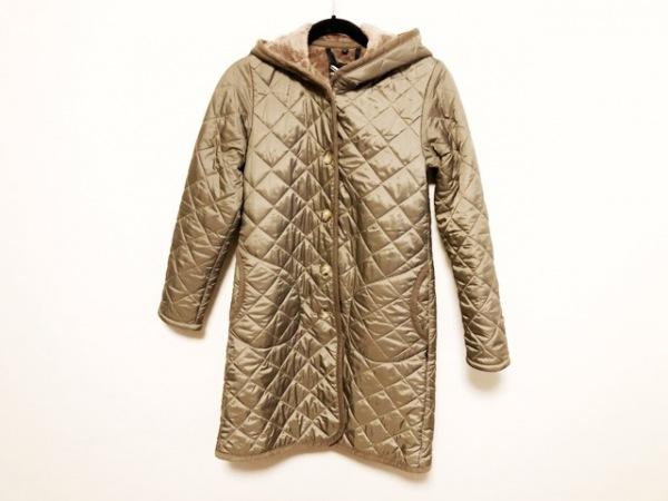 ラベンハム ダウンコート サイズ36 S レディース美品  グレー 冬物/キルティング